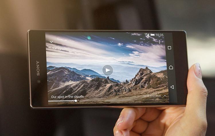 4K экран Xperia Z5 Premium
