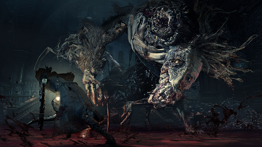 Bloodborne the Old Hunters босс