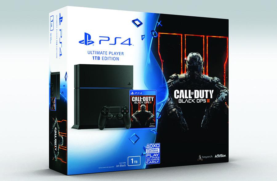 бандл PlayStation 4 Call of Duty: Black Ops III