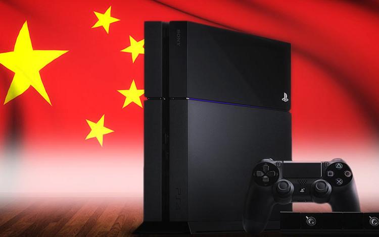 китайские продажи PS4