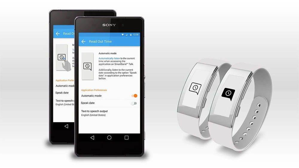 Read Out Time for SmartBand Talk 1
