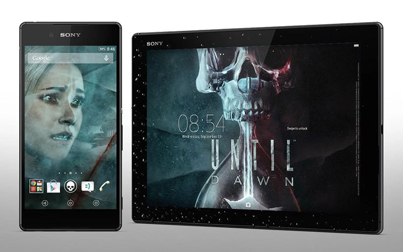 Until Dawn xperia тема