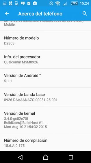 Новая прошивка Android 5.1.1 Lollipop для Xperia M2