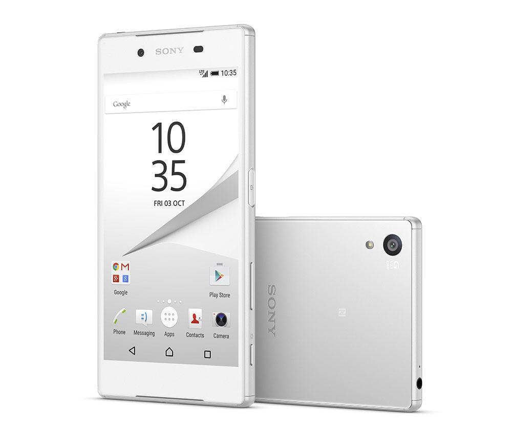 Xperia Z5 белый цвет