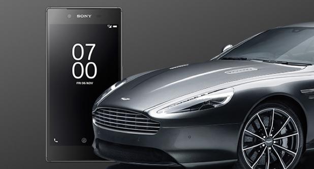 Эксклюзивный Xperia Z5 Bond Edition и розыгрыш Aston Martin