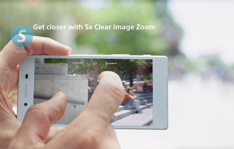 Новая интерфейс камеры Xperia Z5
