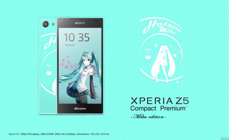 Xperia Z5 Compact Premium фото