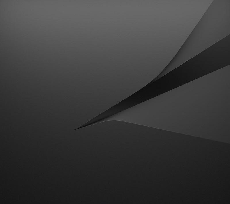 официальные обои Xperia Z5 Compact черный