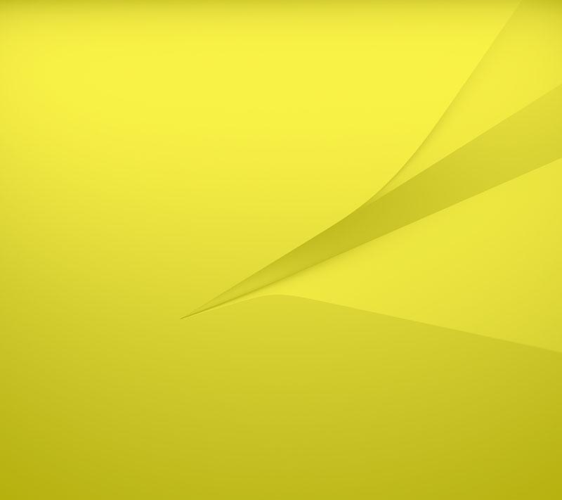 официальные обои Xperia Z5 Compact желтый