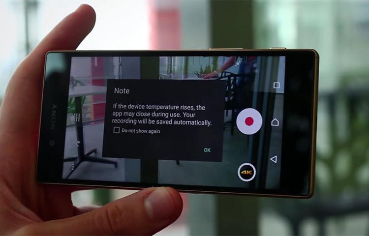 Тест нагрева Xperia Z5 и Snapdragon 810