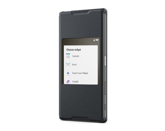 Чехол с умным окном SCR42 для Xperia Z5
