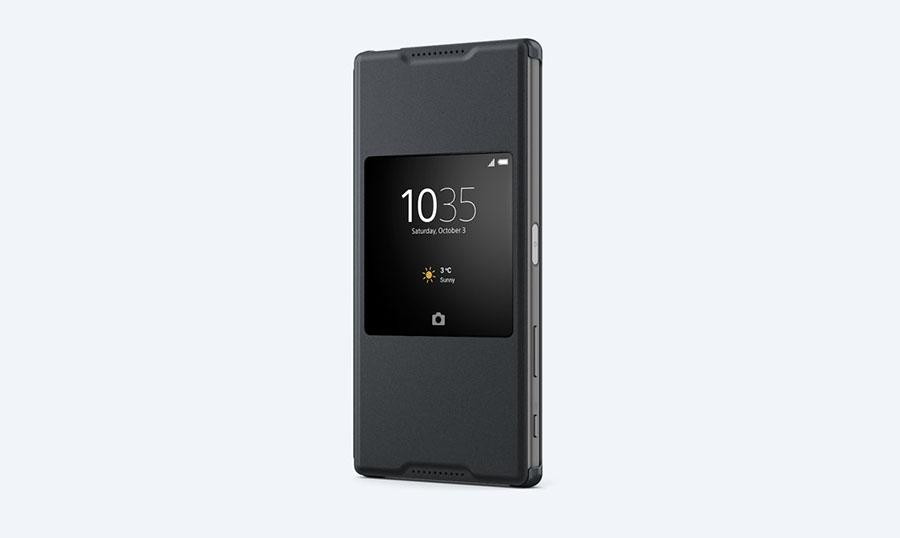 Чехол с умным окном SCR46 для Xperia Z5 Premium