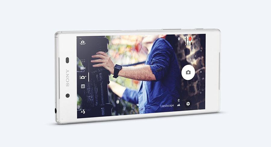 интерфейс камеры Sony Xperia Z5