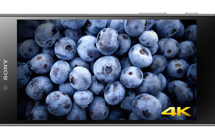 Xperia Z5 Premium имеет 4K экран