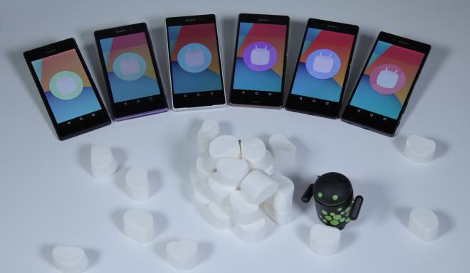 Android Marshmallow AOSP XPERIA