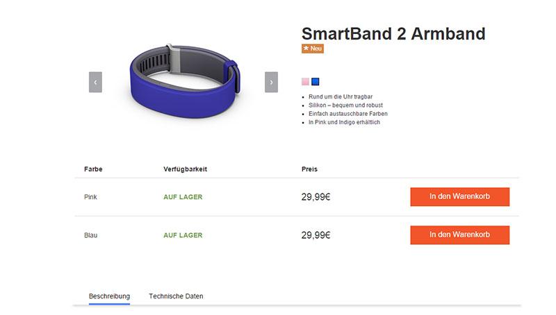 SmartBand 2 сменные ремешки SWR122 цена