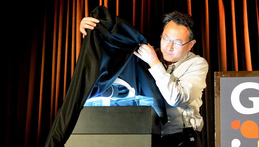 Демонстрация PlayStation VR на мероприятии Sony