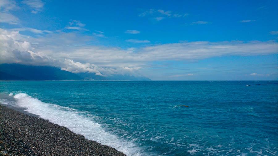 фото камера Xperia Z5 лазурное море тайвань