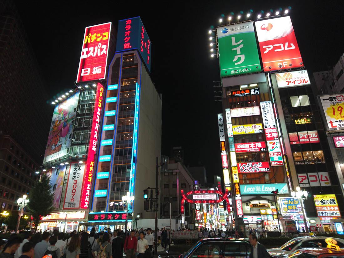 примеры съемки камеры Xperia Z5 - ночной город