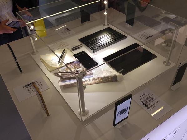 стенд Sony на российской презентации Xperia Z5