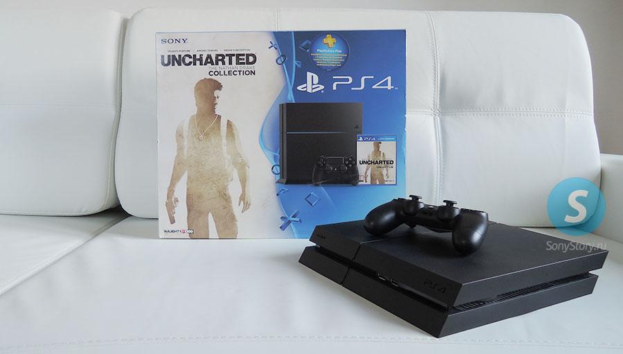 Новая консоль PS4 на сайте SonyStory.ru