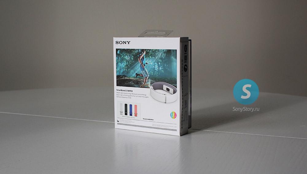 Sony Smartband-2 SWR12 упаковка сзади