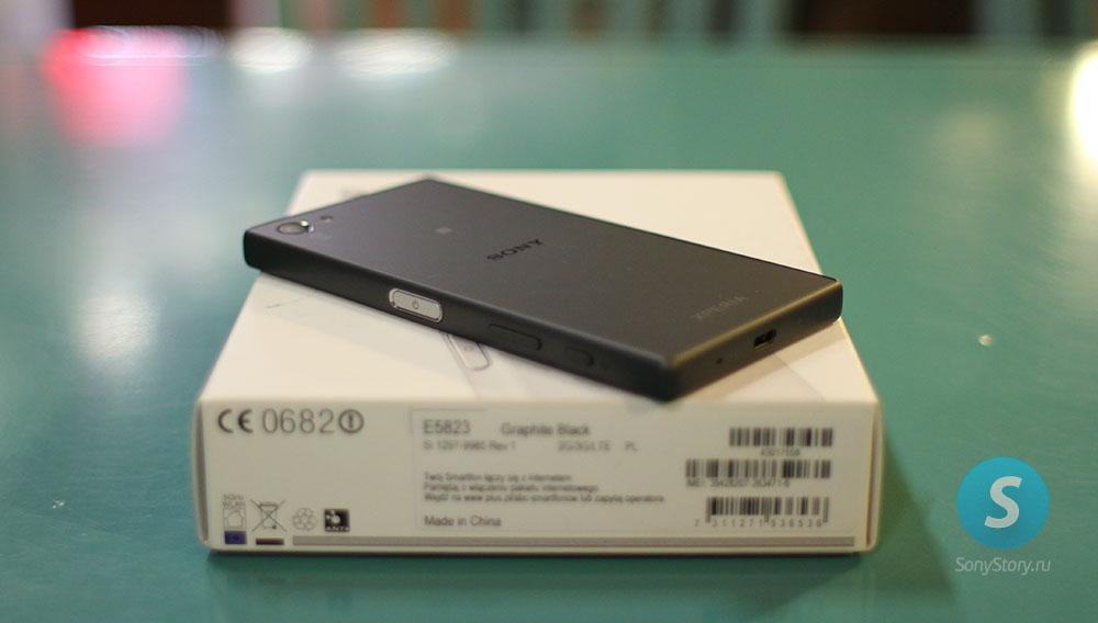 Живые фото Xperia Z5 Compact в макро