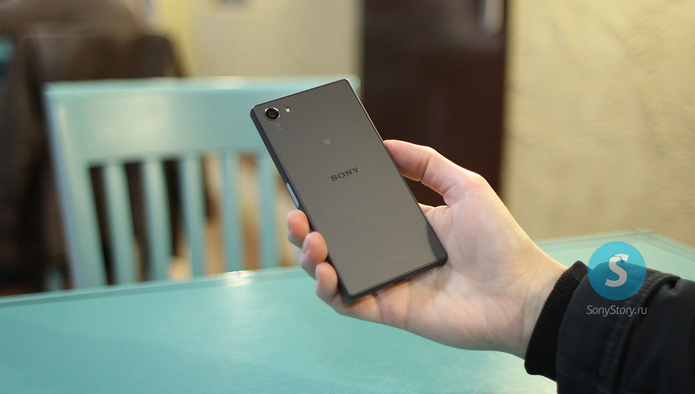 Живые фото Xperia Z5 Compact