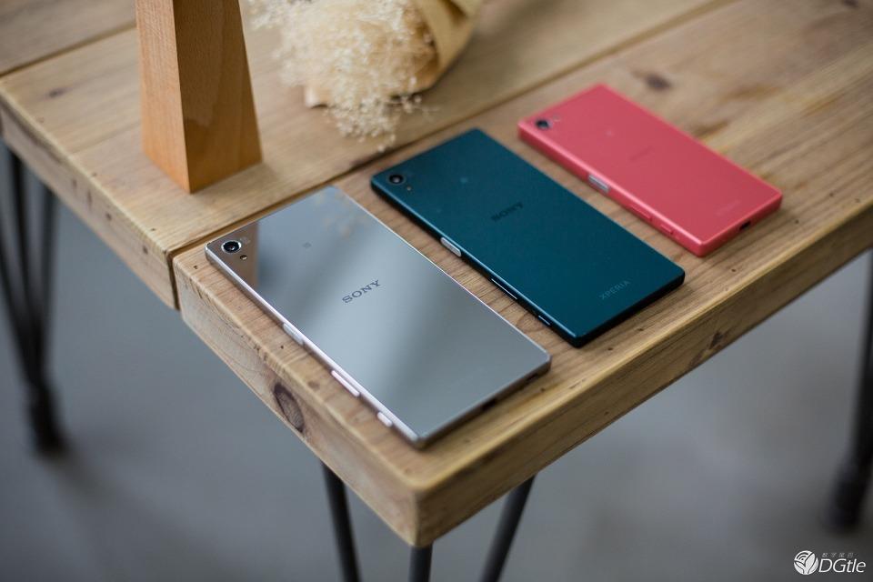 фото Xperia Z5 Premium, Z5 Compact, Xperia Z5