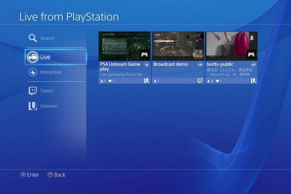 Так работает Live From Playstation