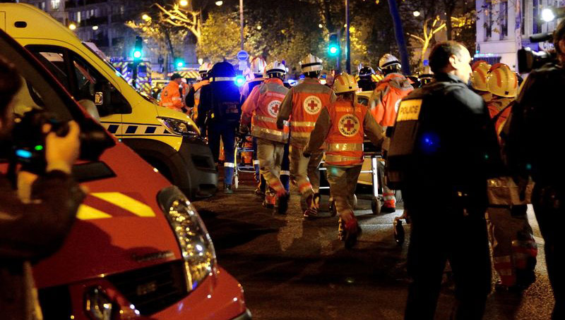 Атака террористов в Париже спланирована через PS4