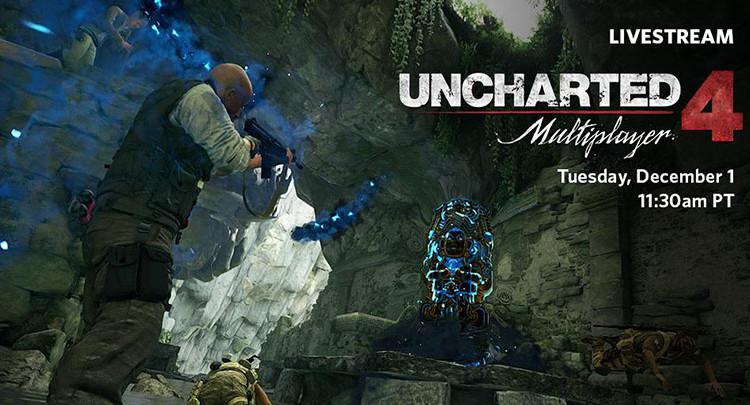 Мультиплеер Uncharted 4 стрим