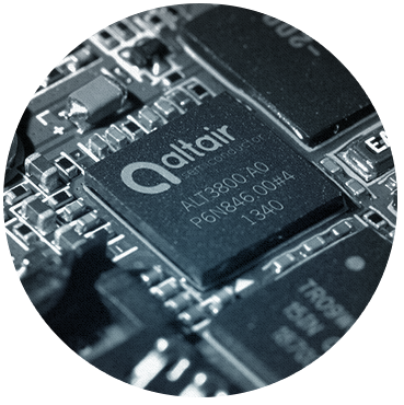 Altair Semiconductor chip