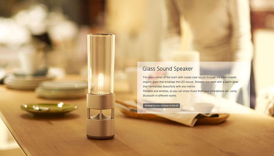 Glass Sound Speaker
