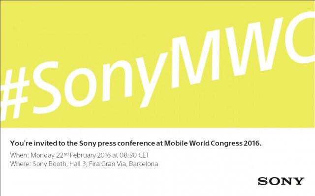 пресс-конференция Sony на MWC 2016