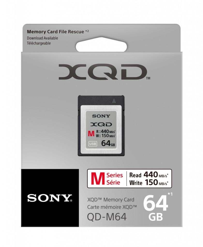 Sony QXD memory Card