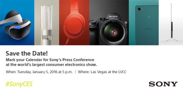Новинки Sony на CES 2016