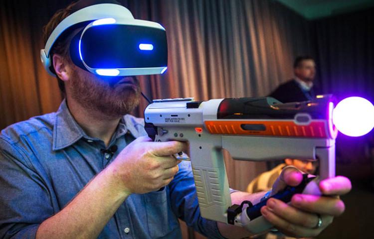 место для игры PlayStation VR