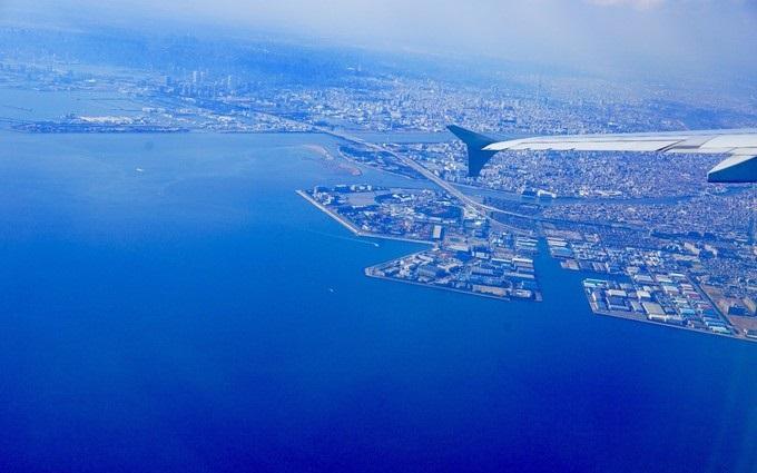 самолет в Японию, поездка в магазин Sony