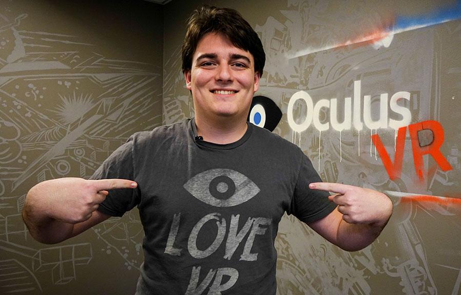 Палмер Лаки, основатель Oculus