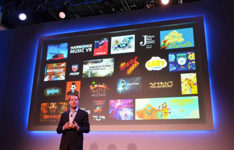 PlayStation VR первые игры