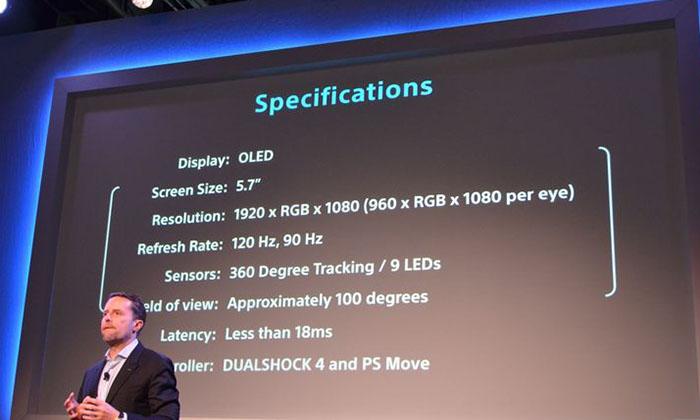 PlayStation-VR-specs