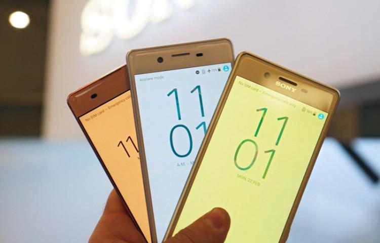 Sony Xperia X цены предзаказ