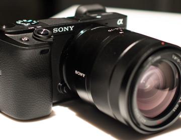 функция распознавания лиц Sony a6300