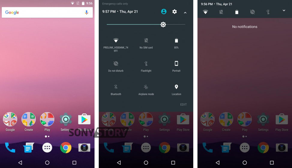 Android-N-Xperia-Z3-pics-2