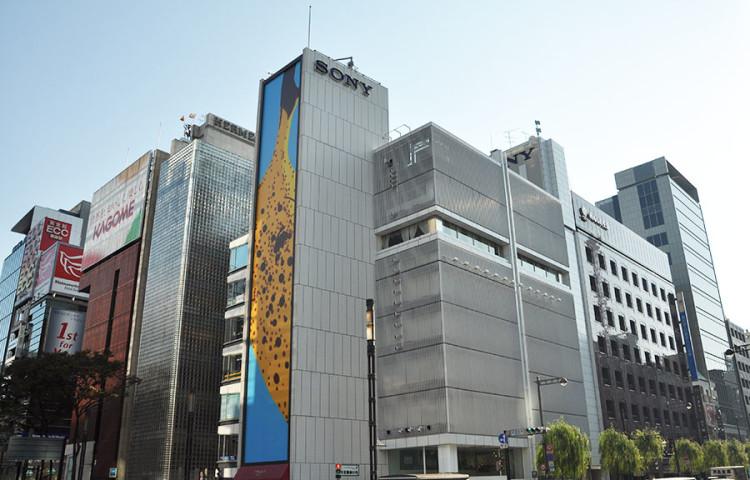 эксукурсия в Sony Building - самый большой магазин Sony