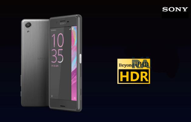 HDR экран Xperia X Premium слухи