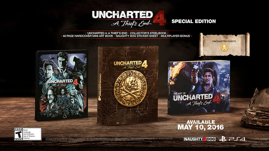 Uncharted 4 A Thief's End Special Edition