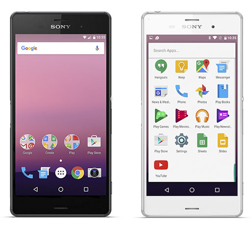 Android N на Xperia Z3