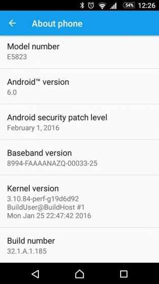 Xperia-Z5-Compact обновление Android Marshmallow